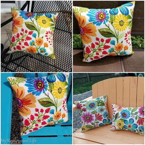 diy pillow covers for outdoor patio