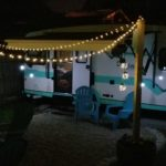 Whiskey Barrel Light Post |Tiny Solar Lights