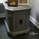 Side Table Makeover | Pet Bed
