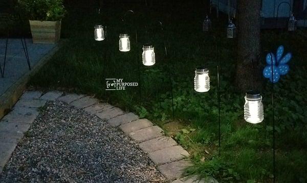 two dollar hanging solar lights MyRepurposedLife