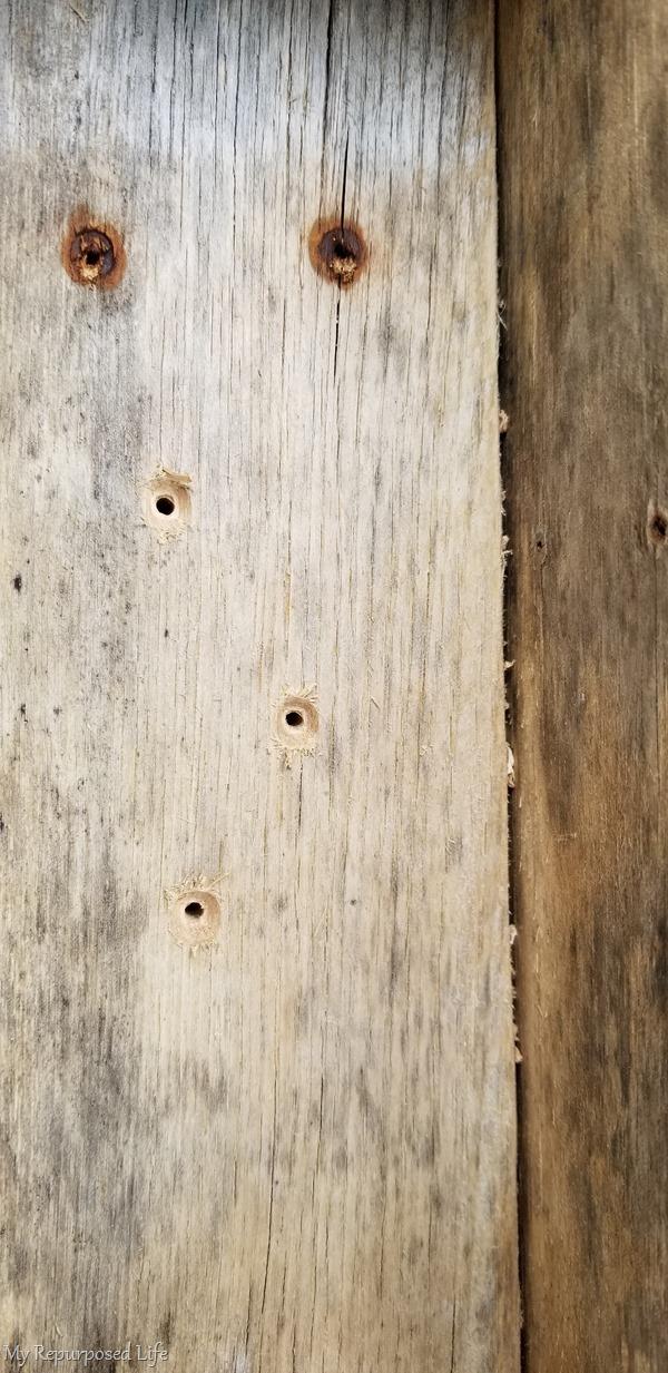 countersink holes
