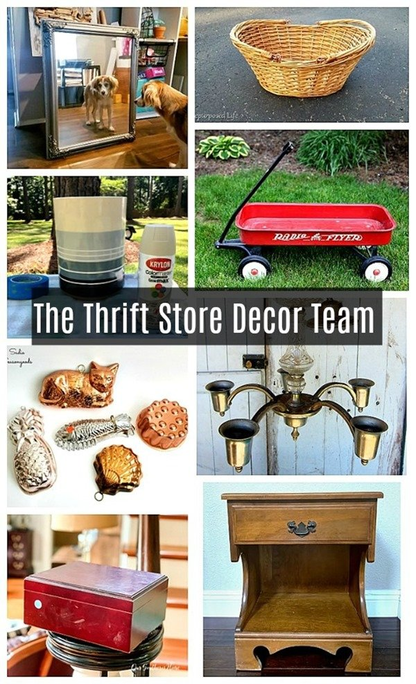 fun thrift store projects from the thrift store decor team