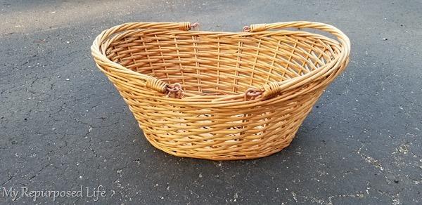 thrift store basket