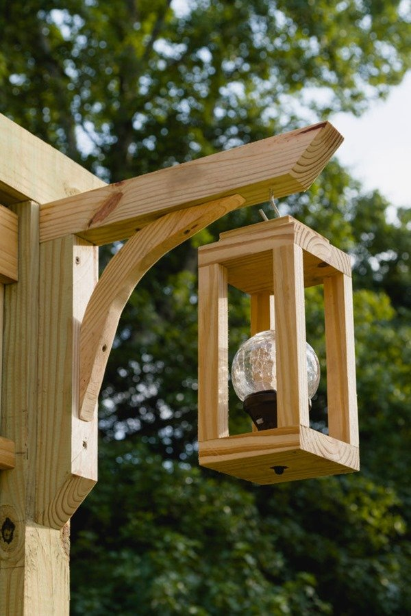 diy wooden laterns