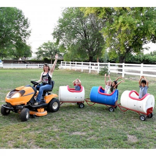 easy diy barrel train for kids