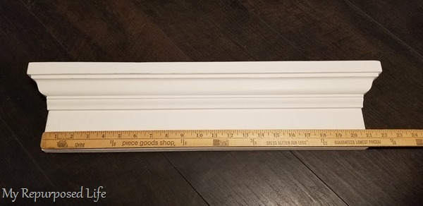 measure spaces for knobs with yardstick