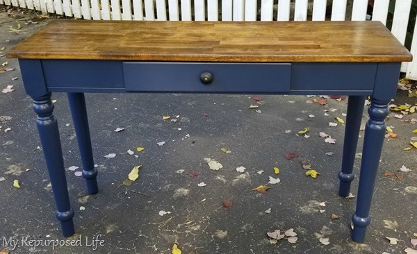 hall table makeover