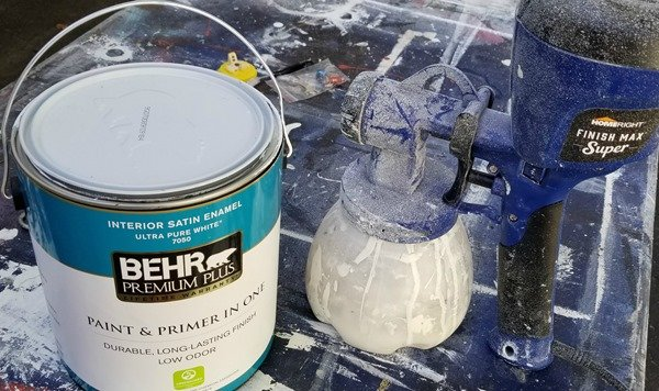 latex wall paint for furniture projects