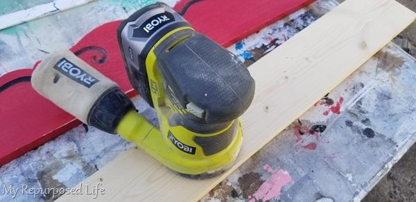 sand shelf board
