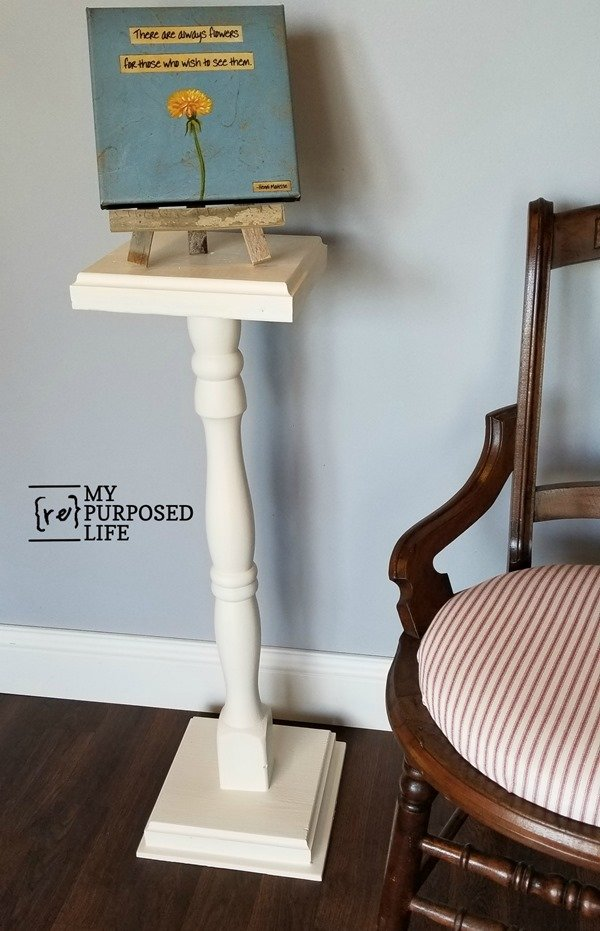 easy pedestal plant stand