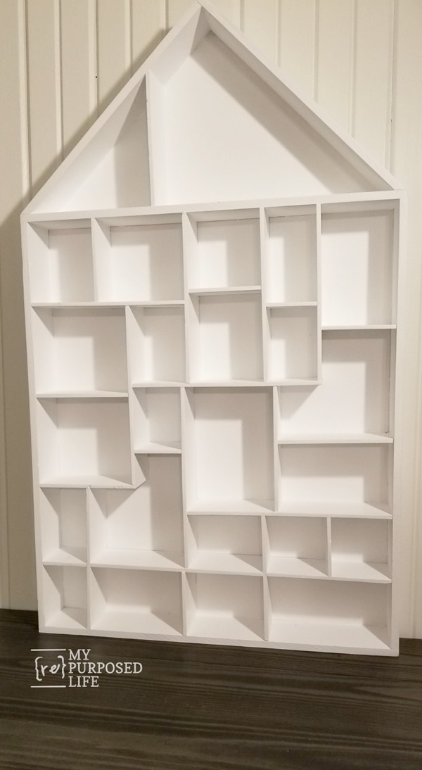 house cubby wall shelf MyRepurposedLife