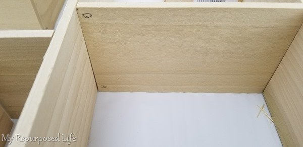 label all cubby shelf boards