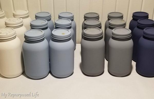 paint sprayer mason jars