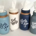 Mason Jar Tissue Holders
