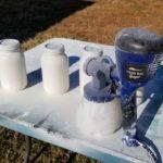 Painting Mason Jars | Paint Sprayer