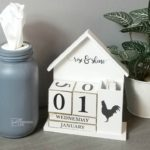 Farmhouse Perpetual Calendar Makeover