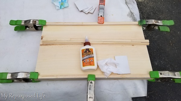 baby wipes remove wood glue