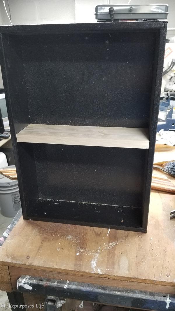 dry fit shelf