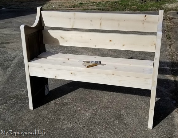 patch and sand bench