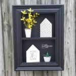 Repurposed Drawer Shadow Box