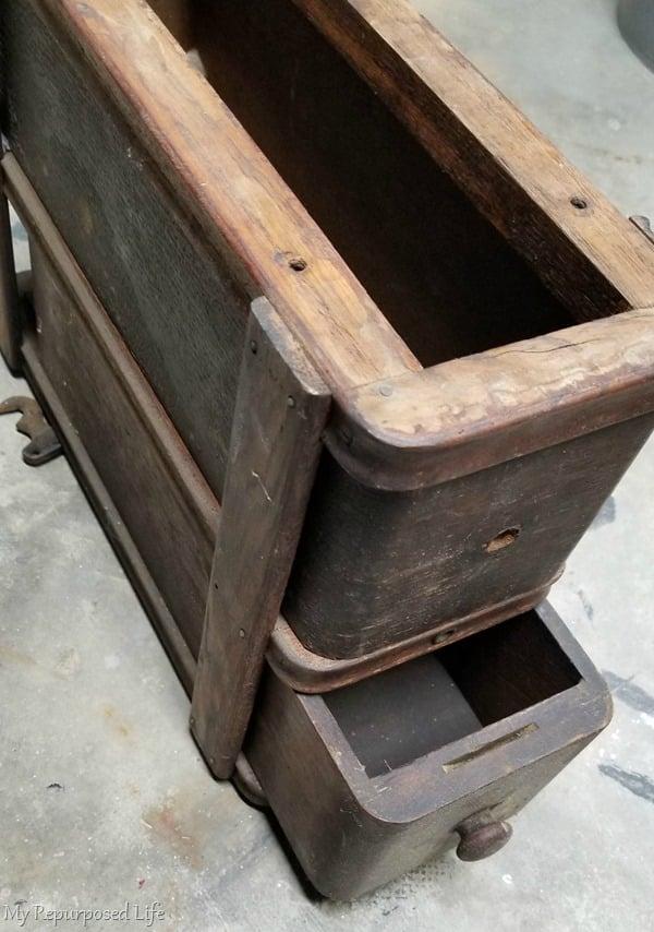 vintage sewing drawer set