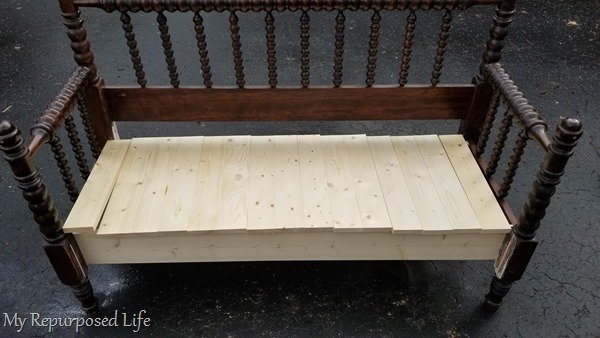 heaboard bench seat