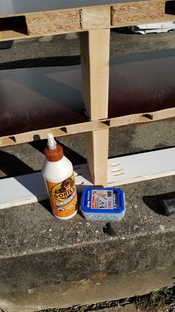 pocket hole screws and gorilla wood glue