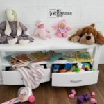 Children's Bench With Storage