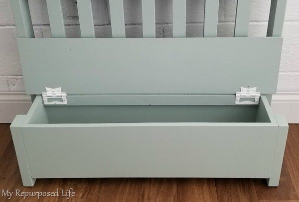 toy box bench hinges