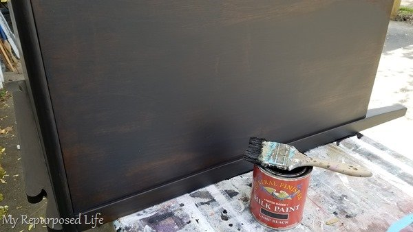 general finishes black paint