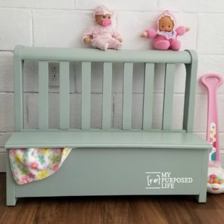 toy box bench