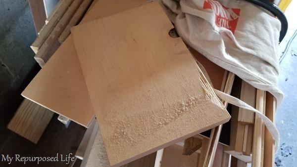 wood scrap pile