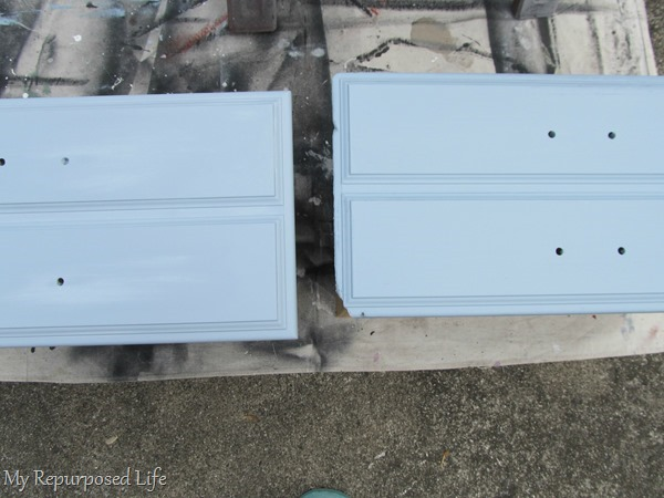 drawers from bookcase makeover