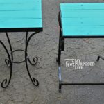 Pallet Top Side Tables for Outdoors