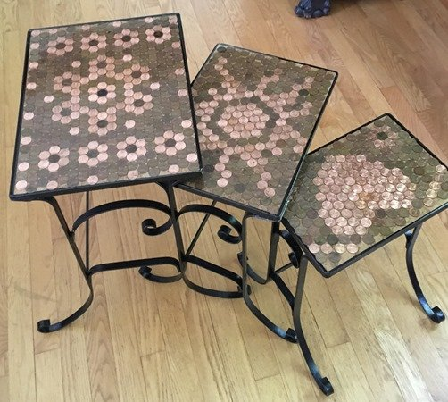nesting penny top tables