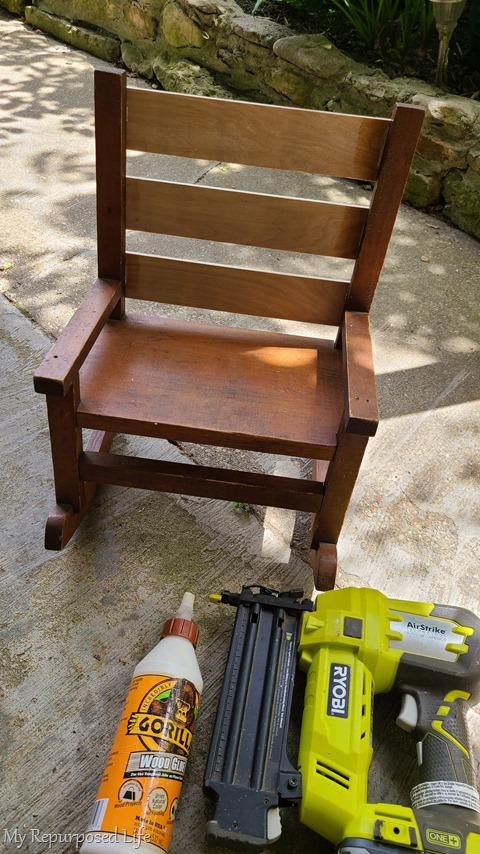 use gorilla wood glue and a nail gun