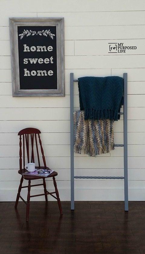 My-Repurposed-Life-DIY-Blanket-Ladder