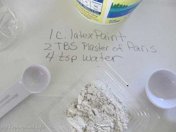 chalk paint primer recipe