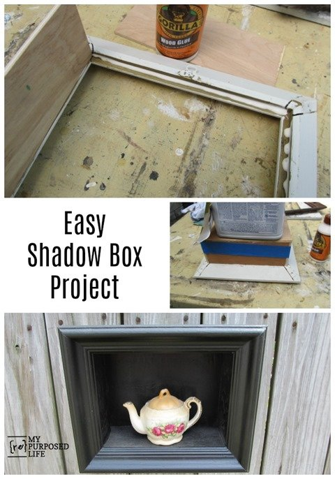 Easy Shadow Box Project from My Repurposed Life