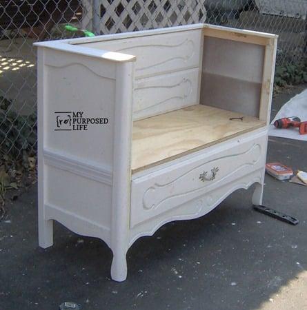 end of bed dresser bench