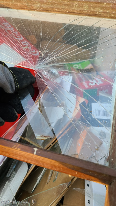 be safe with broken glass