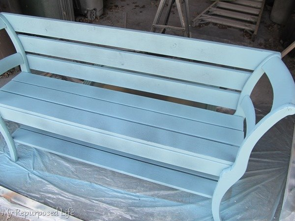 paint sprayer for double chair bench