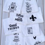 Decorative Flour Sack Towels