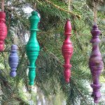 Spindle Ornaments | Repurposed Chess Pieces