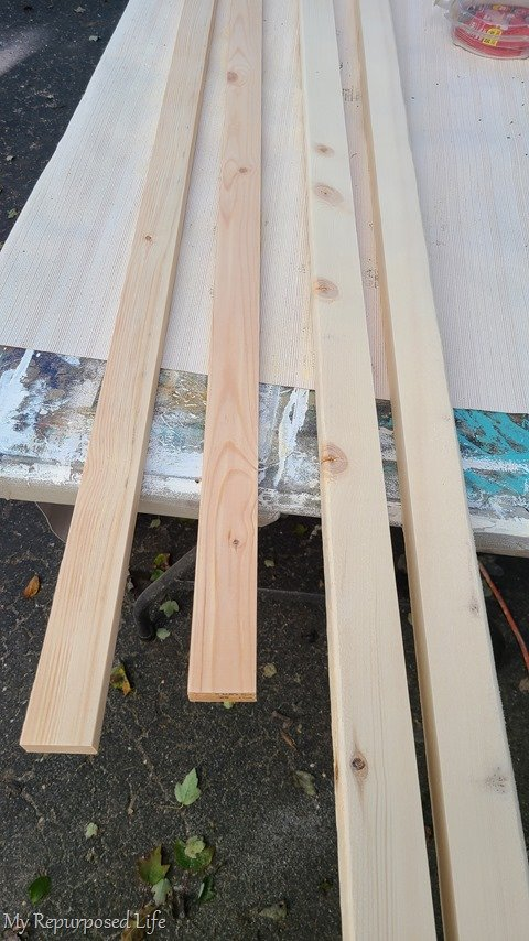 materials for farmhouse ladder