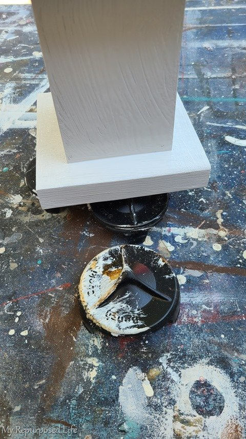 paint chunky pedestals