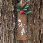 Scrap Wood Christmas Ornaments