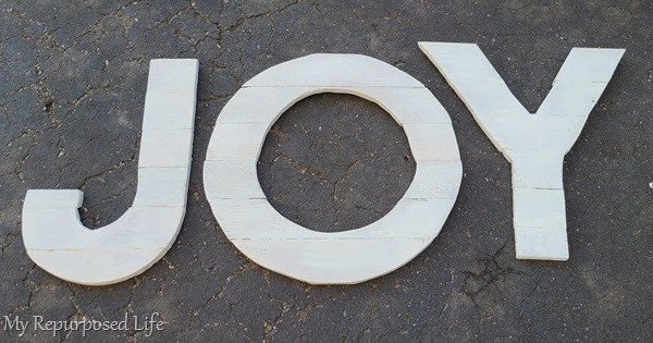 joy letters on the driveway (1)