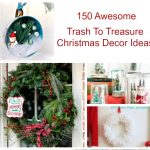 Trash to Treasure Christmas Decor Ideas