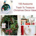 Trash to Treasure Christmas Decor Ideas